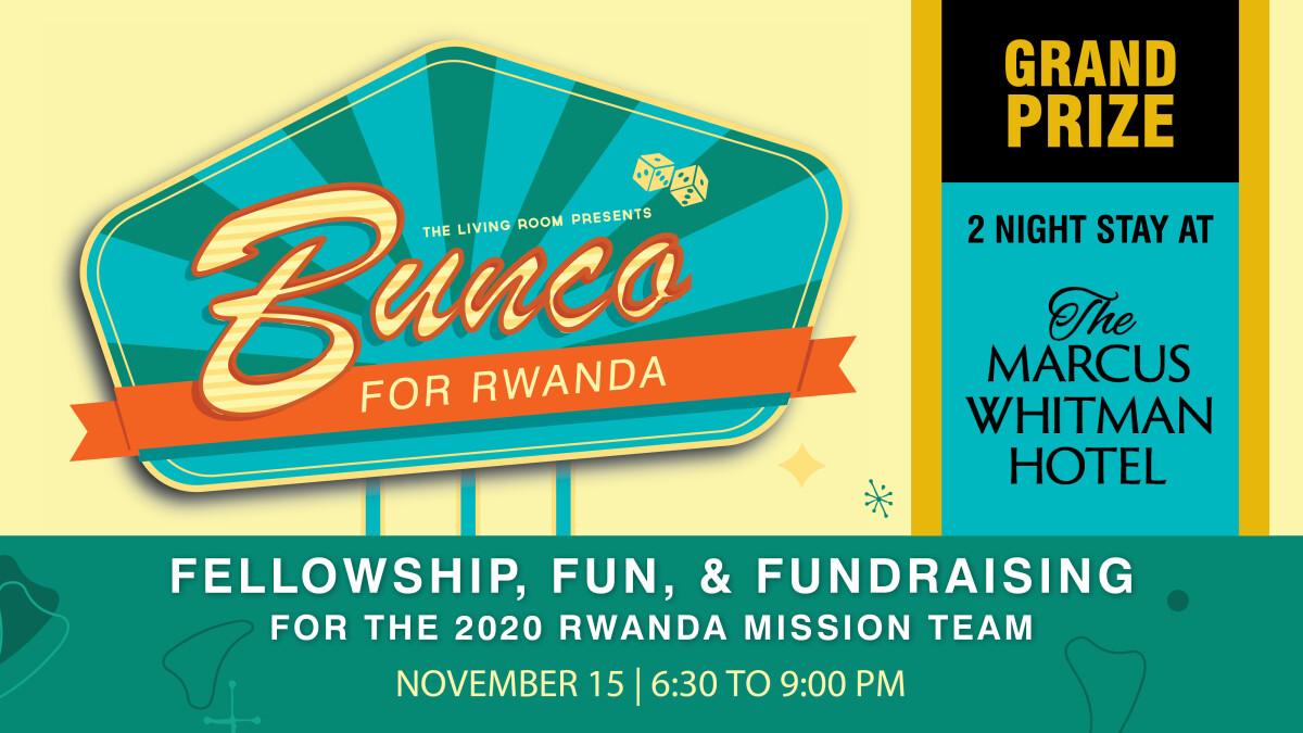 Bunco For Rwanda Final Night