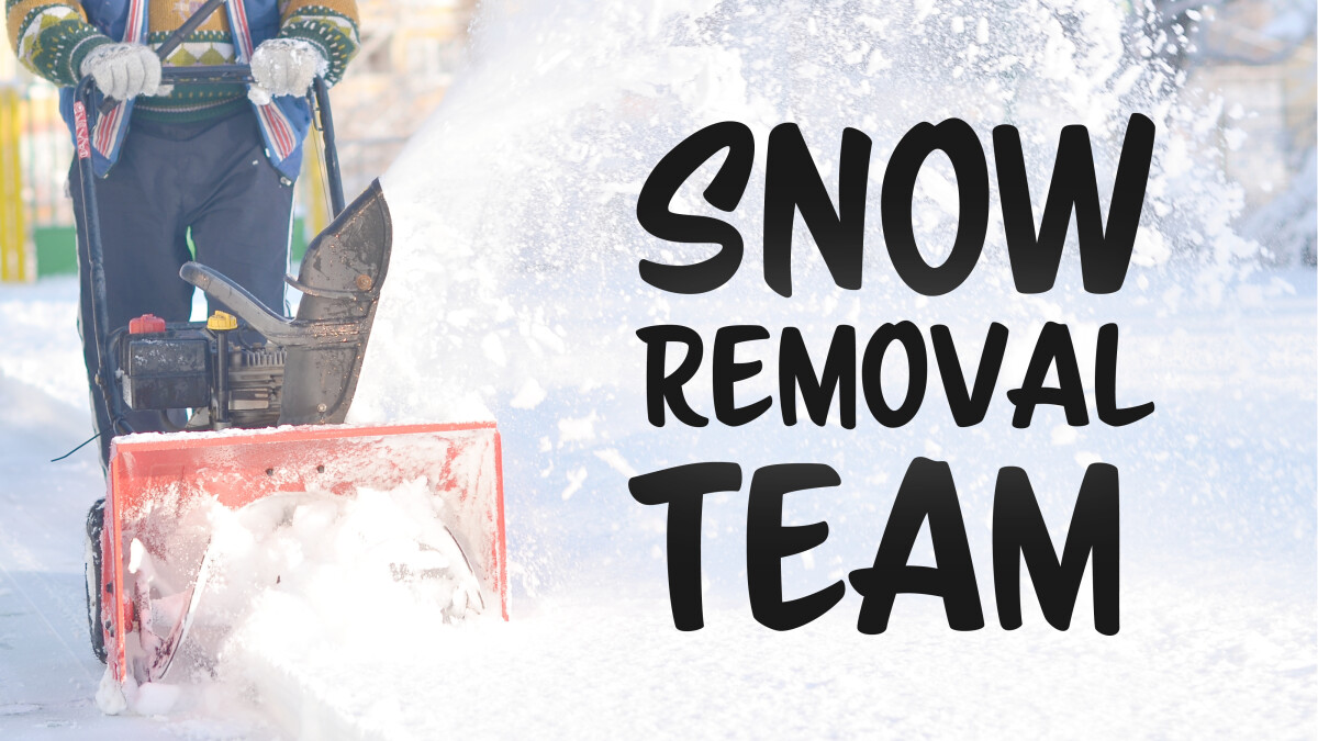 Snow Removal Team Meeting